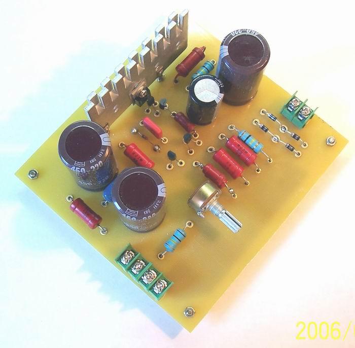 全晶体管胆前级电源制作实例