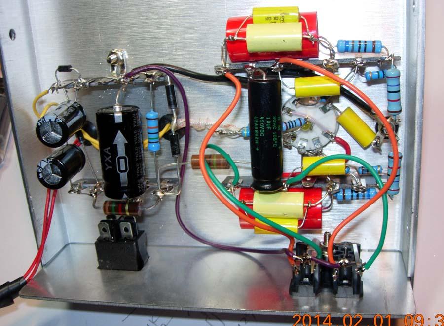 用6n2制作的电子管缓冲器