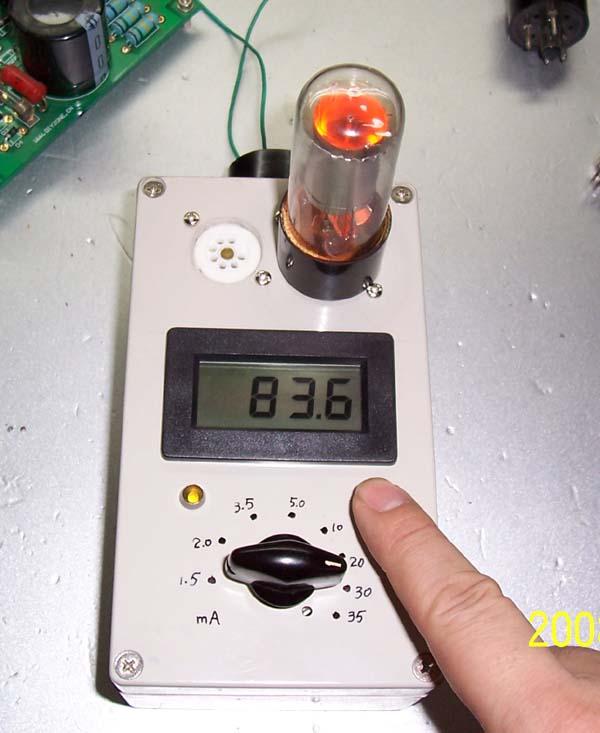 自制积木式电子管测试仪--辉光稳压放电管测试仪