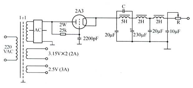 双管自激振荡电路