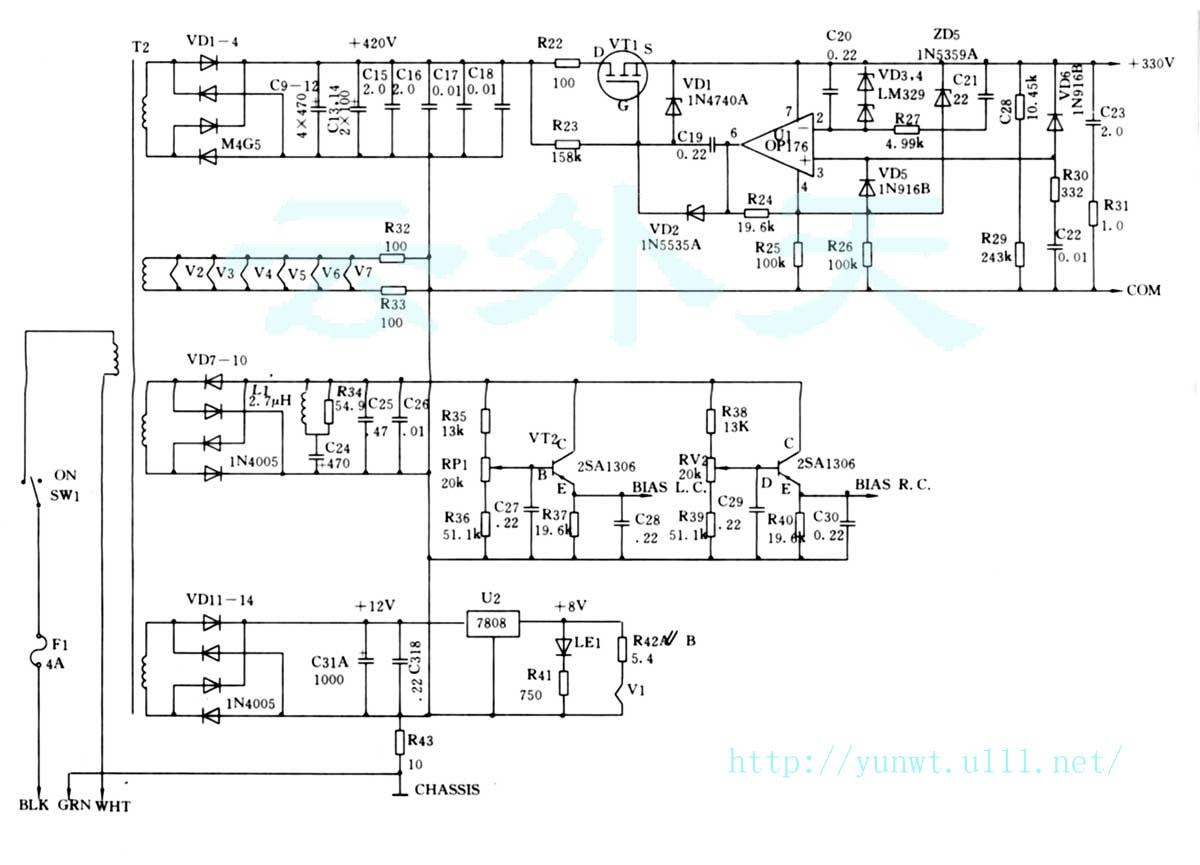 银电解机接线图