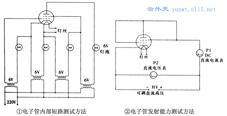 电子管温度控制器的接线图