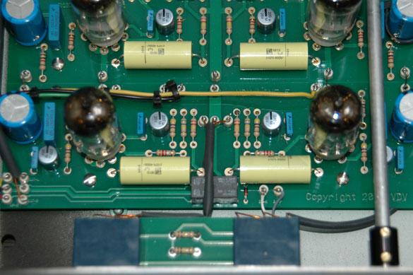 mcml05电子管前置放大器