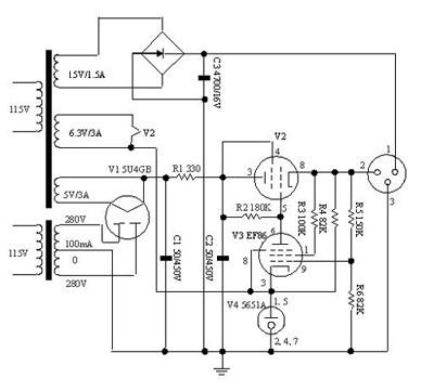 真空管扩大机线路图 - 真空管扩大机线路图  - 快热资讯 - 走进时代