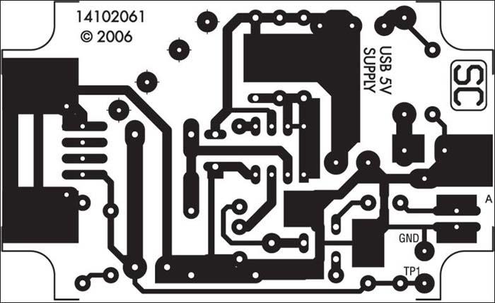 充电器电路板元件