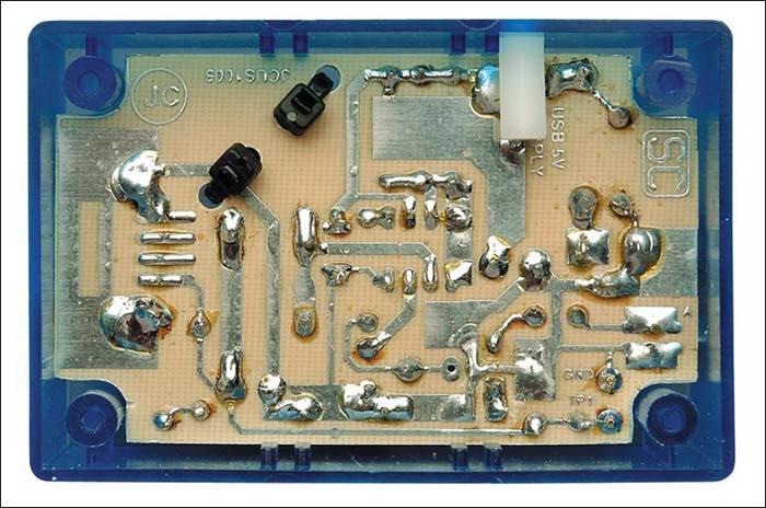 625ma电流输出时的波形图               充电器电路
